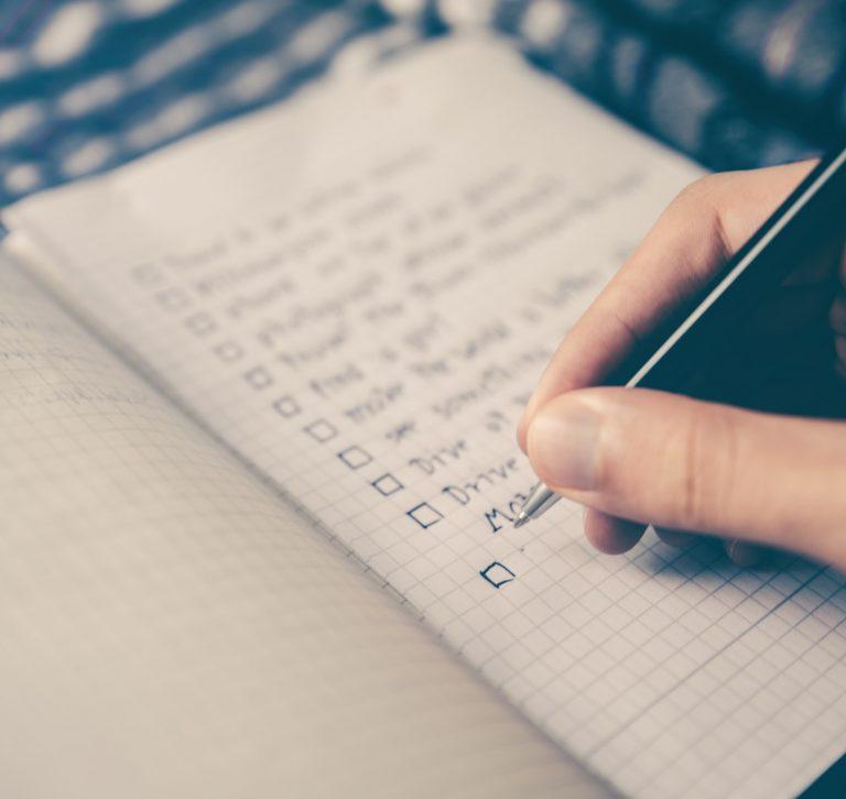 Списък със задачи